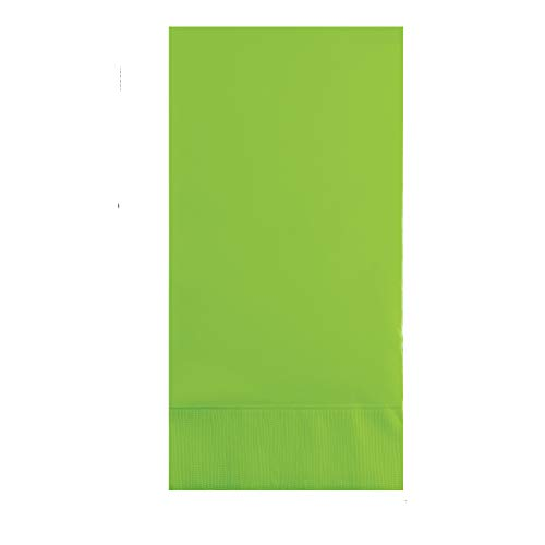 Buy Discount Fresh Lime Green Guest Towels, 192 ct