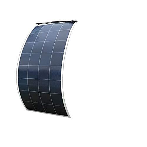 ECO-WORTHY, pannello solare flessibile da 150 W, 18 V, 12 V, ultra leggero e ultra sottile, in poliresina per barche, roulotte, camper, auto, tenda o qualsiasi altra superficie irregolare.