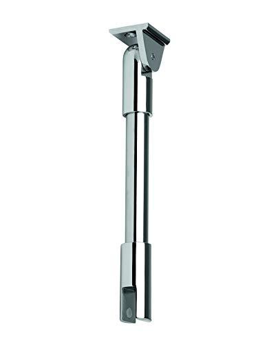 Stabilisierungsstange mit variablem Deckenhalter Glas/Decke (Ø 19 mm) 1000 mm (Oberfläche: Edelstahl)