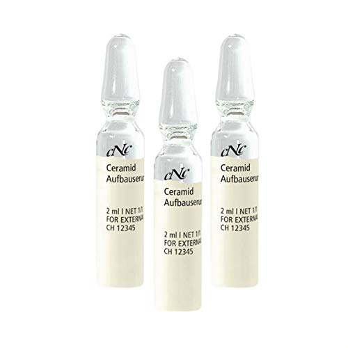 CNC cosmetic-Ceramid Aufbauserum-Wirkstoffampullen stärkt Hautbarriere, gegen Feuchtigkeitsverlust und Irritationen 10x2ml