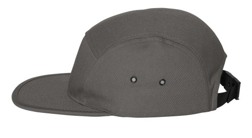 Yupoong - Jockey Flat Bill Cap, Grey