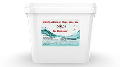 Schauch Superabsorber zur schnellen Aufnahme oder Absorption unangenehmen Gerüchen, Ausscheidungen, Erbrochenes, Urin, Blut, Fäkalien, Wasser