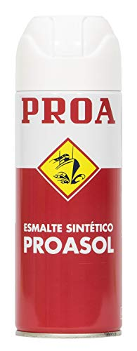 PROASOL SPRAY ESMALTE NEGRO MATE 400ML