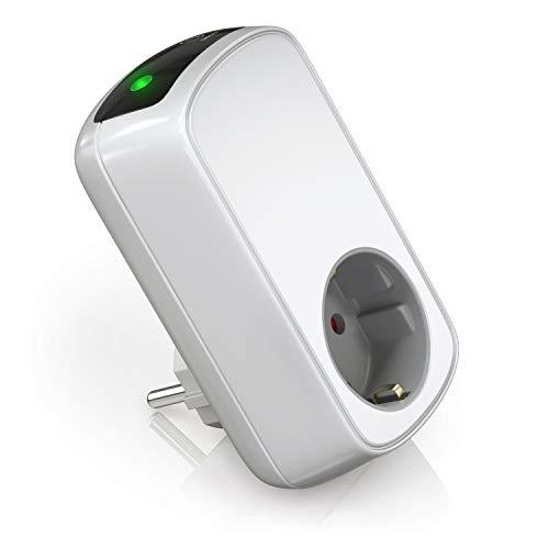 Bearware - Timer elettrico - Temporizzatore di Accensione o spegnimento - Presa a risparmio energetico - max 3680W - Presa con dispositivo di sicurezza integrato