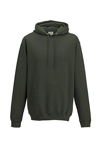 Just Hoods - Sweat-shirt à capuche - Homme - Vert - Vert olive - XL