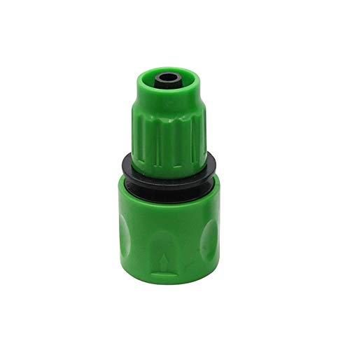 Yhdzswb De una vía rápida conector for conectar la manguera de 3/8' Herramientas de riego del jardín Conector de la manguera de jardinería Conector de la manguera ( Color : Random , Diameter : 3/8'' )
