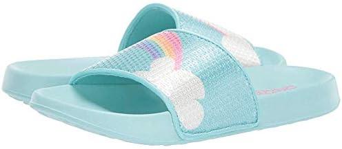 Skechers Unisex-Child Sunny Slides (Little Big Kid) Sandal