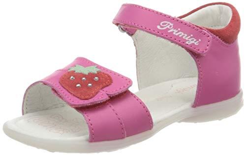 Primigi Sandalo Bambina, Punta Aperta, Pink Fuxia Chiaro 5405522, 24 EU