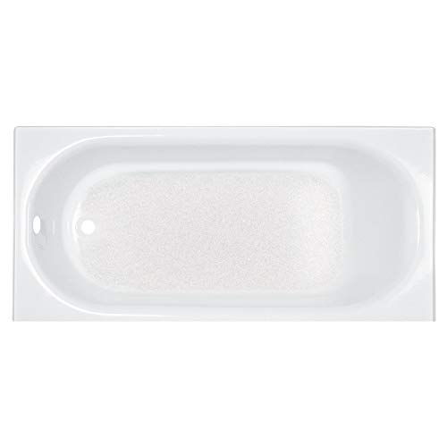 American Standard 2390202.011 Princeton 60 in. x 30 in. Americast Apron-Front Bathtub with Left Hand Drain, Arctic American Standard Bathtub Alcove