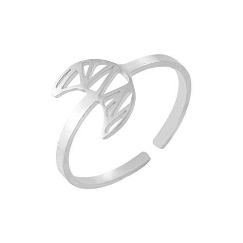 GFHDFHDFJS Anillo Abierto,3 Unids Crescent Luna Forma De Dedo Joyería, Ajustable Mujeres Regalo Moda Dedo Joyería Adecuada para Fiestas, La Vida Diaria, Bodas Y Otras Ocasiones