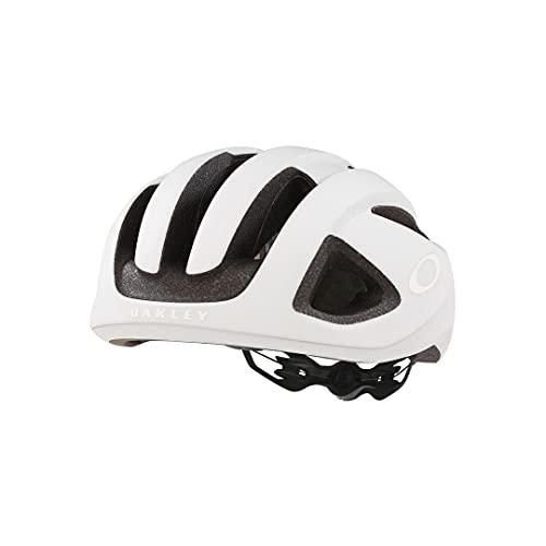 Oakley Aro3 Weiß, Fahrradhelm, Größe L - Farbe Matte White