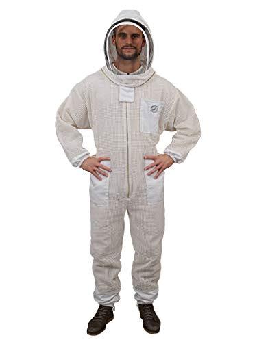 Humble Bee 421 Aero Beekeeping Suit with Fencing Veil