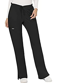 WW Revolution by Cherokee Women's Mid Rise Moderate Flare Drawstring Pant Petite, Black, XX-Small Petite (B071GPNK7R) | Amazon price tracker / tracking, Amazon price history charts, Amazon price watches, Amazon price drop alerts
