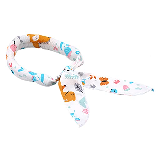 Xzbnwuviei Ice Band Sports Turban,Yoga Running Sports Scarf Neck Wrap Pattern Head Wrap Non Slip Summer Cool Ice Towel Soaked Tie Around Neck Head