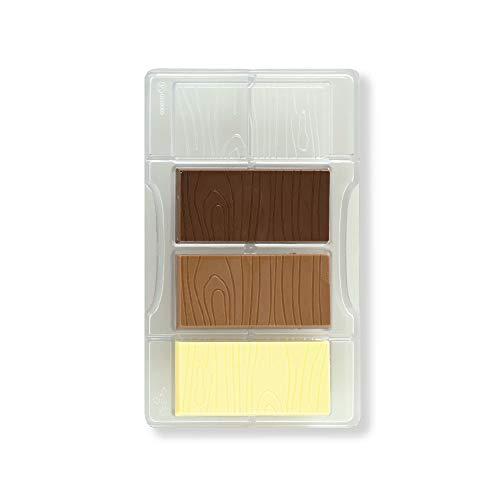 Decora 0050130 Molde para Chocolate Tableta DE Madera