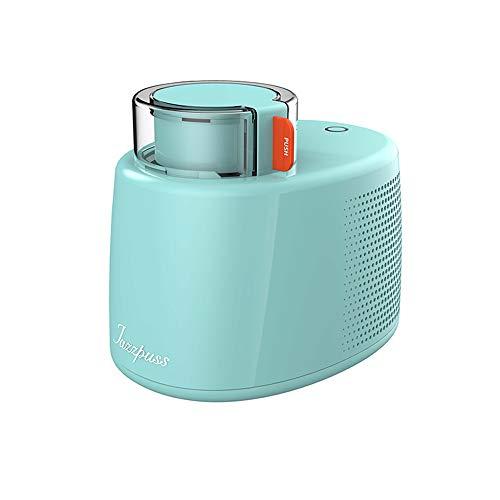 Professionelle Eismaschine,Elektrisch,500mL,Kühlfunktion,Ohne Vorkühlung,6h Isolierung,Frozen Joghurt und Sorbet,Grün