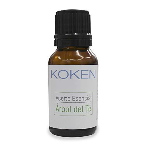 KOKEN - Aceite Esencial de Árbol de Té - Para Tratamientos de Acné, Antipiojos, Hongos. Remedio 100% Natural