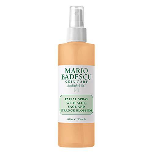 Mario Badescu Facial Spray with Aloe, Sage and Orange Blossom, 8 Fl Oz