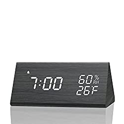 The 10 Best Desk Clock With Alarms