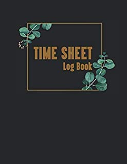 Time Sheet Log Book: 365 days In/ Out Employee working hours for small business with Overtime work record, up to 12 worker...