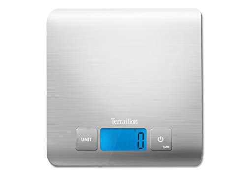 Terraillon ART12574 carré Inox Bilancia Elettronica in Acciaio