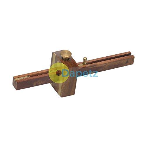 Daptez® Expert Combinaison Jauge 200mm pour Marquage Out & Pose Out Mortaises