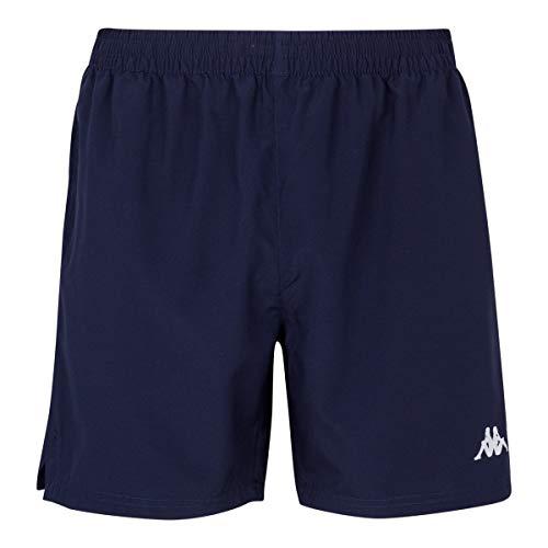 Kappa Lambre Pantalones Cortos, Hombre, Azul Marino, M