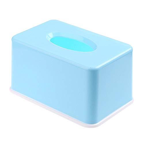Madeinely Tissue Box Einfacher Haushalt Plastic Seidenpapier Halter und Spender Box Cover Fall Serviettenhalter Hauptdekoration for Wohnzimmer Multifunktions Für Waschtisch im Bad Countertops