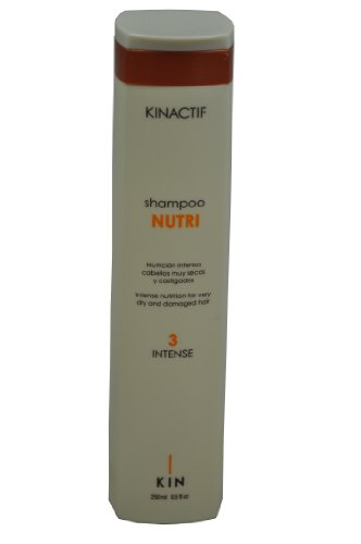 Kin Kinactif Nutri 3Intense Champú para cabello muy seco y dañado–250ml