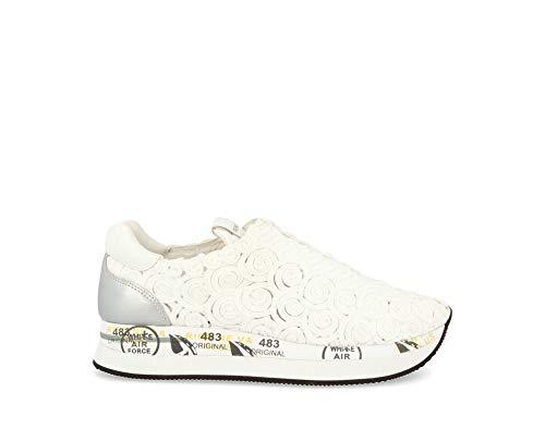 PREMIATA Zapatillas 3938 blanco para mujer Blanco Size: 37 EU