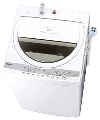東芝 7.0kg 全自動洗濯機 グランホワイトTOSHIBA AW-7G9-W