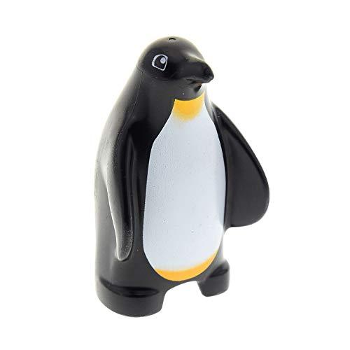 1 x Lego Duplo Tier Pinguin schwarz weiss gelb Aqua Zoo Antarktis Eis 5633 54651 10501 x932px2