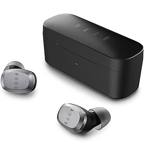Auriculares Tws Bluetooth 5.2,T1 Lite Auriculares Deportivos Para Correr,Ipx7 Auriculares Impermeables con Cancelación de Ruido Aac Hd Hifi Auriculares,32 horas de...
