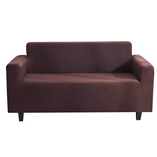 JBNJV High Stretch Sofa Schonbezug, 1 Stück Sofabezug 1/2/3/4 Sitzer Couchbezug Einfarbig Weich waschbar Rutschfester Möbelschutz für Wohnzimmer Home D & Eacute; COR-BS (90-140CM)