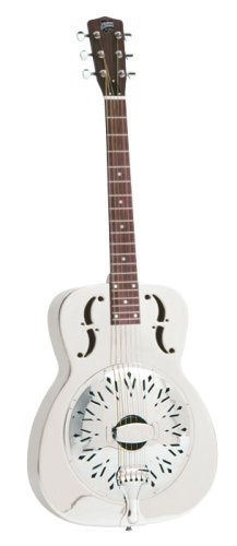 recording King rm-998d corpo in ottone chitarra resofonica