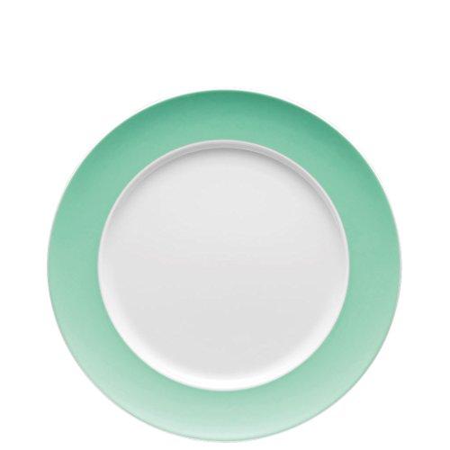 Thomas Sunny Day Assiette Plate, Porcelaine, Baltic Green / Vert, Passe au Lave-Vaisselle, 27 cm, 10227