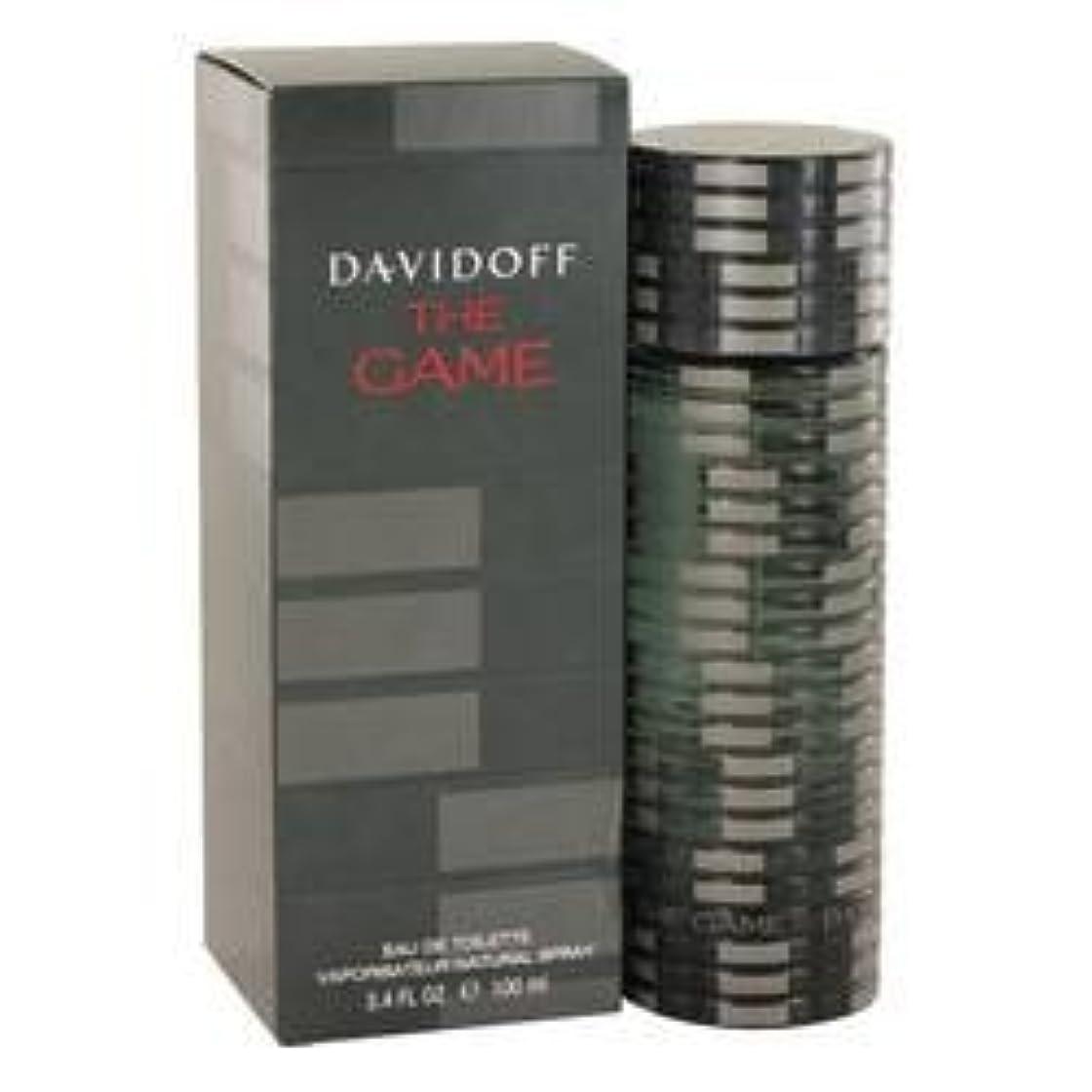 してはいけません別のジムThe Game Eau De Toilette Spray By Davidoff