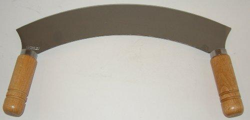 Wiegemesser - Edelstahl - 25 cm - Holzgriff