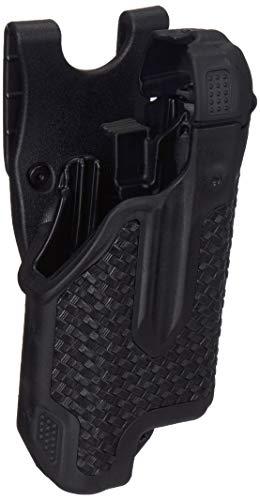 BLACKHAWK 44E000BW-R Glock 17/22/31 Basket Weave Epoch Level 3 Molded Light Bearing Duty Holster