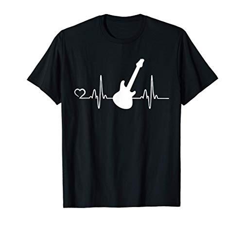 Guitarra eléctrica Gráfico Guitarrista Instrumento De Regalo Camiseta