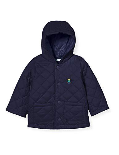 United Colors of Benetton Baby-Jungen Giubbotto Jacke, Peacoat 252, 74