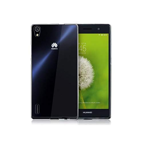 Takeon Cover Trasparente per P7 Huawei Ascend P7 Custodia TPU Morbida Slim 0,3 mm P7