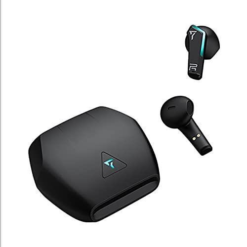 Kaper Go Auriculares Inalámbricos, Auriculares Inalámbricos En El Oído, Auriculares Bluetooth TWS Auriculares 5.0 Estéreo De Juegos (Negro)