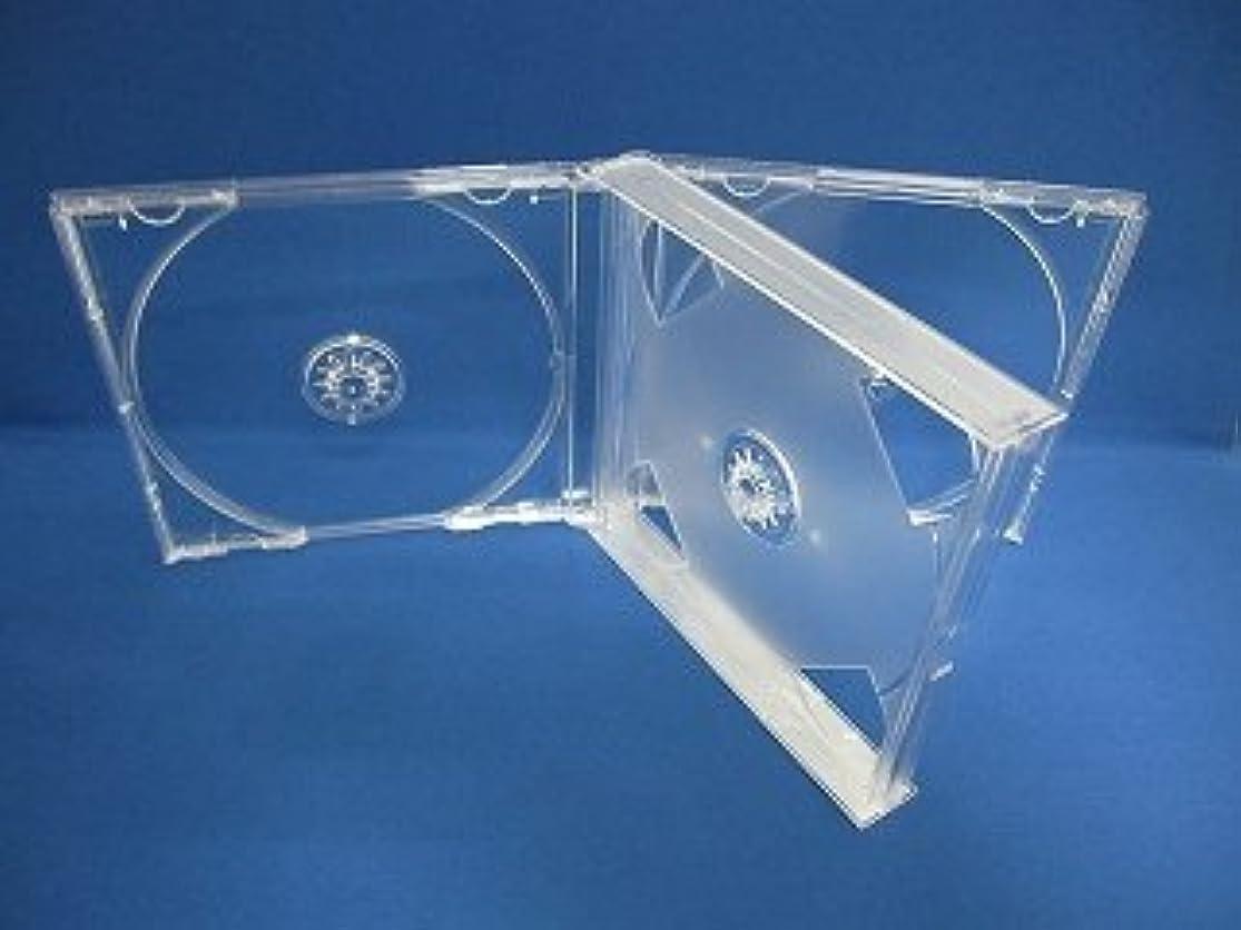 権限特異な続ける3CDマルチプラケース透明