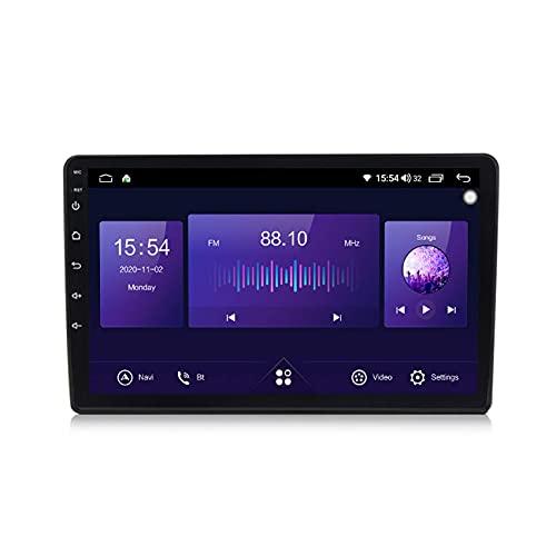 KLL Android 10 Autorradio GPS Navegación del Coche pour 10.1inch VW B5 B6 B7 Universal mp5 Multimedia Reproductor FM Am Radio DSP carplay Manos Libres Bluetooth+Cámara Trasera