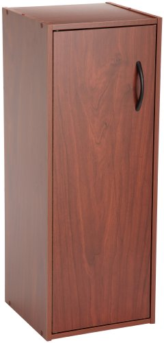 ClosetMaid 899000 1-Door Laminate Stacker Organizer, Cherry