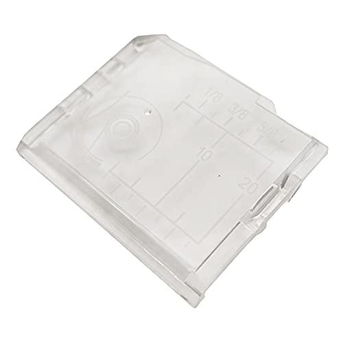 FITYLE Placa de Cubierta de Bobina para Máquina de Coser Compatible con 2040 4018 4023 4618