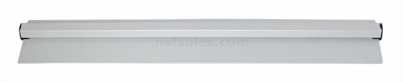 New Star 23862 Anodized Aluminum Slide Check Rack, 24-Inch, Silver