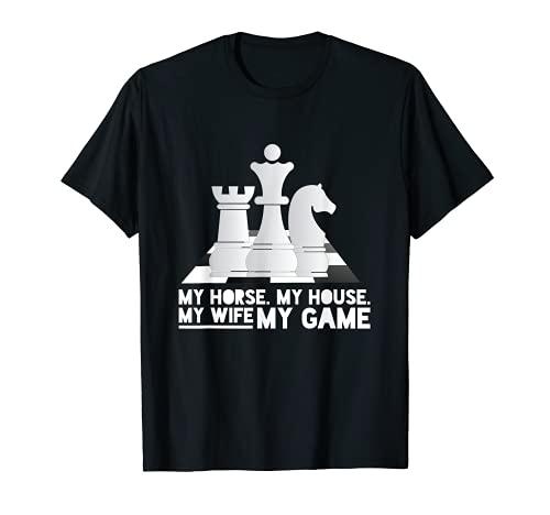 Hombre Ajedrez Jugador Profesional Chess Camiseta