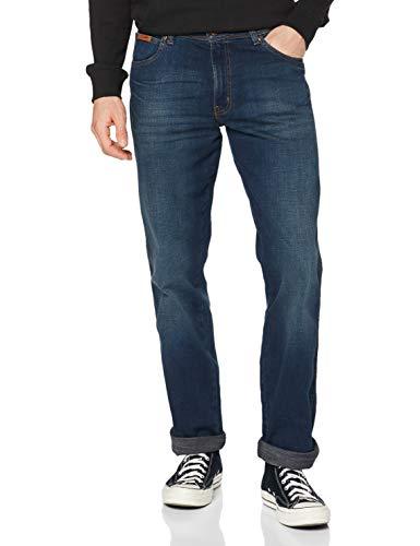 Wrangler Texas Contrast, Jeans con la Gamba Dritta, Uomo, Blu (Vintage Tint), 34W / 34L